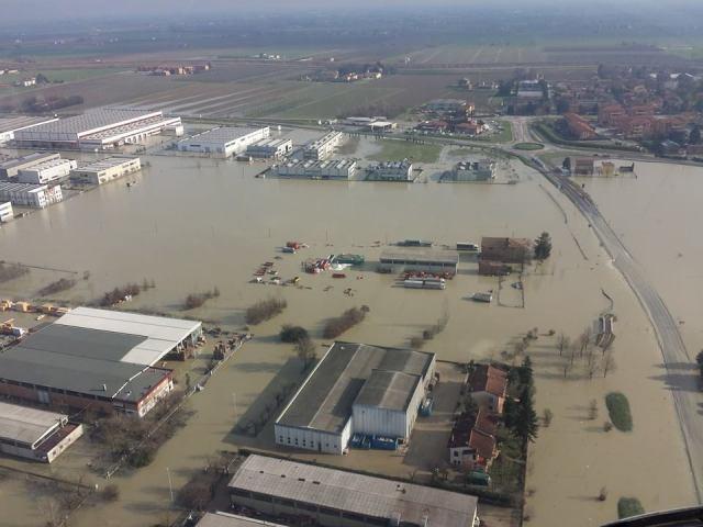 alluvione industrie