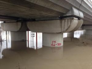 sotto il ponte Tav