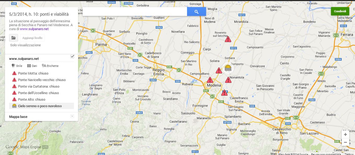 mappa 5 marzo longhi