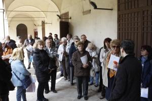 La  passeggiata di quartiere nel chiostro di San Francesco (22 marzo)