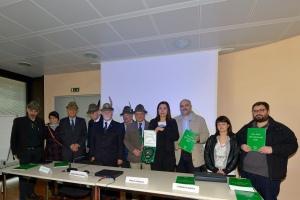 Foto presentazione Libro verde Alpni